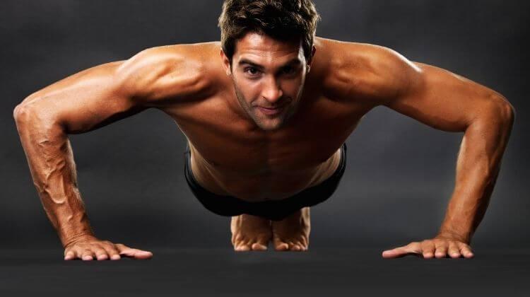 how many calories do push ups burn