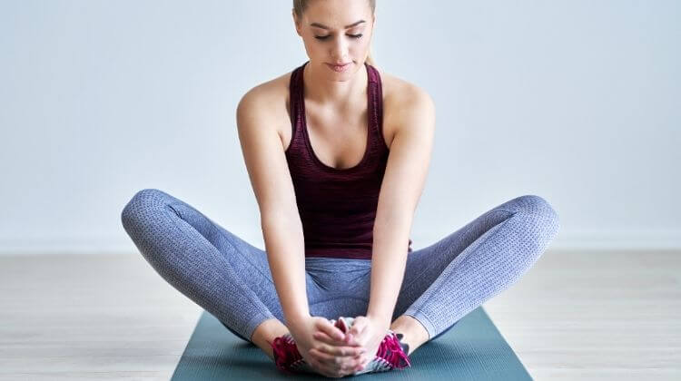 Butterfly Stretch exercise