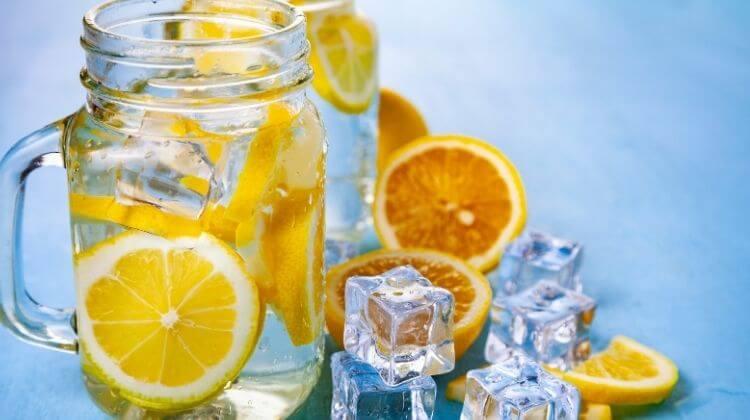 Cold Lemon Water Benefits
