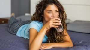 Drinking Lemon Water Before Bed