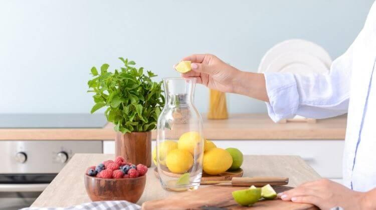 What is lemon water?