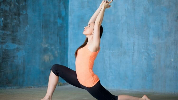 How to do Low Lunge exercise-stretching