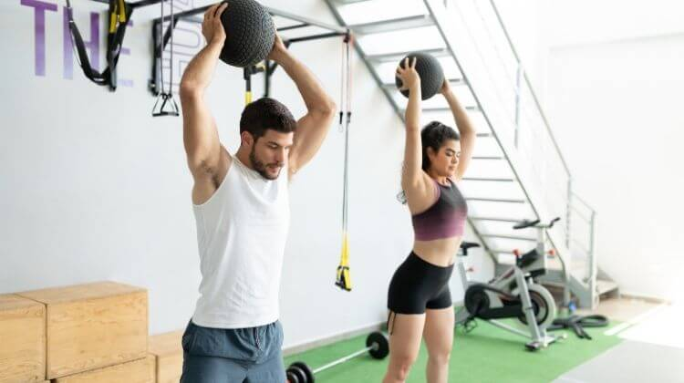 The Benefits Of Wall Ball Exercise