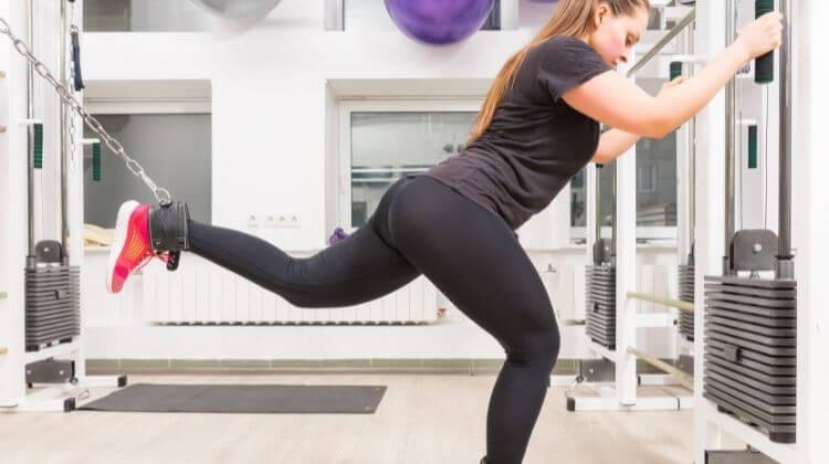 Cable Donkey Kicks Exercise